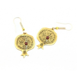 Earring &quot;Pomegranate&quot;