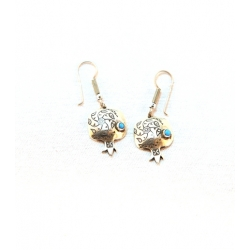"Earring ""Pomegranate"""