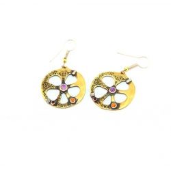 "Earring ""Wheel of Life"""
