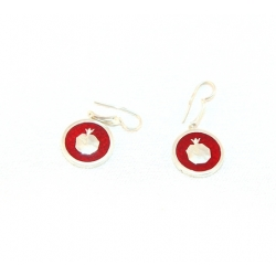 "Earring ""Pomegranate"""