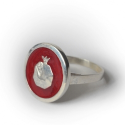 "Ring ""Pomegranate"""