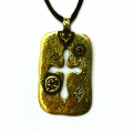 "Pendant ""Double-Sided Cross"""