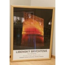 """Poster """"Libensky, Brychtova"""", without frame"""