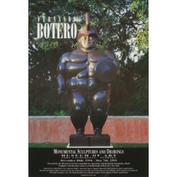 "Poster ""Monumental Sculptures and Paintings"""