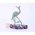 Sculpture Armenian peacock