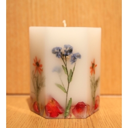 """Candle """"Flowers"""""""
